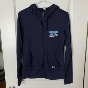 Under Armour Saint Mary's College ZipUp Hoodie szM